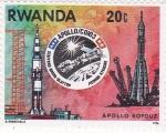Stamps Rwanda -  Aeronáutica Apolo-Soyouz