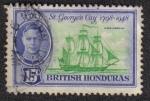Sellos de America - Belice -  St. George's Cay 1798-1948