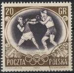 Stamps Poland -  POLONIA SCOTT_751 BOXEADOR
