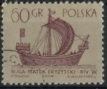 Stamps : Europe : Poland :  POLONIA SCOTT_1129 NAVE FRISIA. $0.2