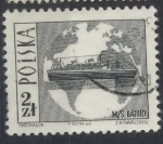 Stamps : Europe : Poland :  POLONIA SCOTT_1447 BARCO Y MAPAMUNDI. $0.2