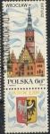 Sellos de Europa - Polonia -  POLONIA SCOTT_1731 AYUNTAMIENTO WROCLAW