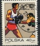 Stamps : Europe : Poland :  POLONIA SCOTT_1880 BOXEO Y SIMBOLO OLIMPICO. $0.2