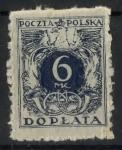 Sellos de Europa - Polonia -  POLONIA SCOTT_J43 NUMEROS DE VALOR