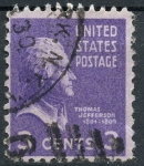 Stamps : America : United_States :  USA_SCOTT 807.02 THOMAS JEFFERSON. $0.2