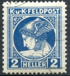 sello : Europa : Austria : AUSTRIA SCOTT_MP1.02 MERCURIO. $0.2