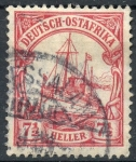 Stamps : Europe : Germany :  ALEMANIA AFRICA ORIENTAL 33 KAISER YATE