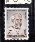 Sellos del Mundo : America : Guatemala : Homenaje al Obispo Francisco Marroquín