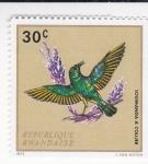 Stamps Rwanda -  Soumanga a Collier