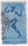 Stamps Guinea -  GUINEA ESPAÑOLA- deportes