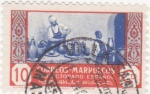 Stamps Morocco -  Protectorado español- Alfarero