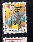 Stamps : Africa : Angola :  Año Internacional del Niño 1979