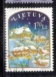 Sellos del Mundo : Europa : Lituania : Navidad