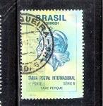 Sellos de America - Brasil -  Alegoría