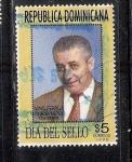 Sellos de America - Rep Dominicana -  Día del Sello