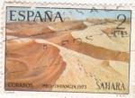 Sellos de Africa - España -  SAHARA-  Dunas