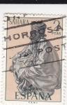 Stamps Spain -  SAHARA- Indígena