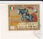 Stamps Equatorial Guinea -  Olimpiada de Munich-72