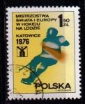 Sellos del Mundo : Europa : Polonia : 2273 Campeonatos europeos de Hockey hielo