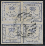 Stamps Spain -  ESPAÑA 115 CORONA REAL