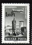 Stamps Hungary -  Frankfurt