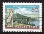 Sellos de Europa - Hungría -  Península de Tihanyi