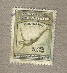 Sellos de America - Ecuador -  Natación