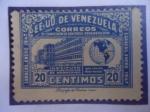 Sellos de America - Venezuela -  EE.UU de Venezuela-Instituto Antituberculoso de Maracaibo-XII Conferencia Sanitaria Panamericana.