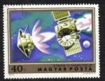 Stamps Hungary -  Camino a Marte
