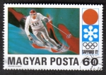 Stamps Hungary -  Sapporo 72