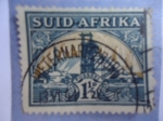 Stamps : Africa : South_Africa :  Posseel -  Suid Afrika - South Africa