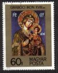 Sellos de Europa - Hungría -  Szigetcsep ICONO XVIII.sz