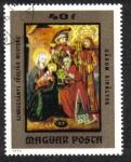Sellos de Europa - Hungría -  Szmrecsányi gran maestro altar: REYES MAGOS