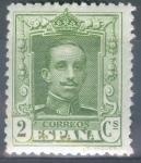 Stamps Spain -  ESPAÑA 310 ALFONSO XIII TIPO VAQUER