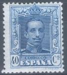 Stamps Spain -  ESPAÑA 319 ALFONSO XIII TIPO VAQUER