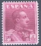 Stamps Spain -  ESPAÑA 322 ALFONSO XIII TIPO VAQUER
