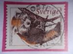 Sellos de Europa - Suecia -  Panda