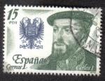 Stamps Spain -  Carlos I