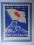 Sellos de Europa - Yugoslavia -  Yugoslavia - Semana de la Cruz Roja - Sello de caridad,beneficencia.