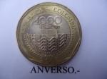 monedas del Mundo : America : Colombia :  República de Colombia- $1.000 (Anverso)
