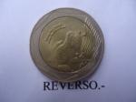 monedas del Mundo : America : Colombia :  República de Colombia-Rana de cristal- $500 (Reverso)