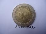 monedas del Mundo : America : Colombia :  República de Colombia- $500 (Anverso)