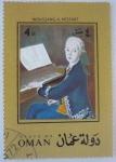 Sellos del Mundo : Asia : Omán : Mozart