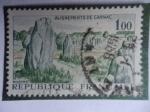 Sellos de Europa - Francia -  Alignements de Carnac - Alíneamientos Monolíticos de Manac