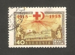 Stamps Russia -  2095 - 40 anivº de la Cruz Roja y de la Cruz Roja soviética