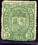 Stamps Europe - Spain -  Escudo de España. Impuesto de Guerra