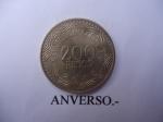 monedas del Mundo : America : Colombia :  República de Colombia-$200 (Anverso)