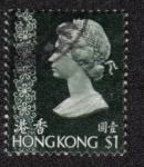 Sellos del Mundo : Asia : Hong_Kong : Reina Elizabeth II