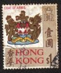 Sellos del Mundo : Asia : Hong_Kong : Escudo de Armas