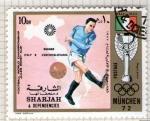 Stamps United Arab Emirates -  65  SHARJAH. Minich-72